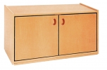 Nástavbová skříňka dvoudveřová s policí MIKI - M14.040