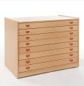 Skříňka zásuvková s osmi zásuvkami MIKI - M13.110