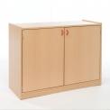 Skříňka dvoudveřová s vloženými policemi MIKI - M14.010
