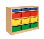 Skříňka s plastovými zásuvkami MIKI - M11.401