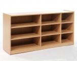 Skříňka na volné zásuvky - plná záda MIKI - M12.030
