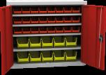 Skříňka s plastovými zásobníky SPP 01