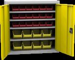Skříňka s plastovými zásobníky SPP 02