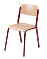 SPARTA pevná stohovatelná židle