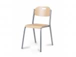SPARTA pevná stohovatelná židle s úpravou pro použití v jídelnách