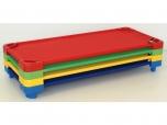 Stohovatelné dětské lůžko lehátko postel postýlka délka 144 cm 3800903