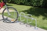 Cyklostojan pro tři kola - šikmé stání 4231