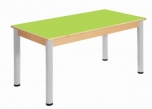 Stůl 120 x 60 cm  výškově stavitelné nohy 36 - 52 cm - x56.03652