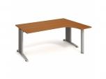 Stůl Ergo levý Flex FE 1800 L 180x75,5x120(80x40) cm (ŠxVxH)