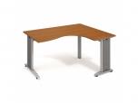 Stůl Ergo levý Flex FE 2005 L 160x75,5x120(80x60) cm (ŠxVxH)