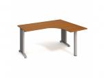 Stůl Ergo levý Flex FE 60 L 160x75,5x120(60x60) cm (ŠxVxH)