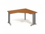 Stůl Ergo levý flex FEV 60 L 160x75,5x120(60x60) cm (ŠxVxH)