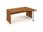 Stůl Ergo levý Gate GEV 1800 L 180x75,5x120(80x40) cm (ŠxVxH)