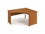 Stůl Ergo levý Gate GEV 80 L 160x75,5x120(60x80) cm (ŠxVxH)