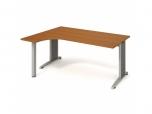 Stůl Ergo pravý Flex FE 1800 P 180x75,5x120(40x80) cm (ŠxVxH)