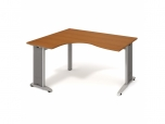 Stůl Ergo pravý Flex FE 2005 P 160x75,5x120(60x80) cm (ŠxVxH)