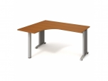 Stůl Ergo pravý Flex FE 60 P 160x75,5x120(60x60) cm (ŠxVxH)