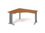Stůl Ergo pravý Flex FEV 60 P 160x75,5x120(60x60) cm (ŠxVxH)