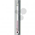 Teploměr s červenou tekutinou, 150 mm