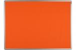 Textilní filcová informační nástěnka 200x120 cm