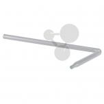 Trubice spojovací zahnutá se zúženým koncem, 90°, 180 x 80 mm