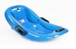 Tvarovaný bob pro malé děti Snow Flipper de Luxe - modrá