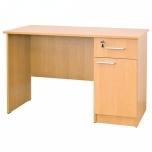 Učitelský pracovní stůl ALFRED dřevěný s úložným prostorem