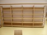 Ukázková sestava knihovnického nábytku
