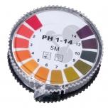 Univerzální indikátorové proužky pH, pH 1-14