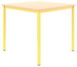 Univerzální stůl pevný 80x80 cm