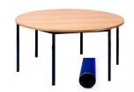 Univerzální stůl pevný kruhový průměr 120 cm