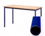 Univerzální stůl pevný obdélníkový 100x80 cm