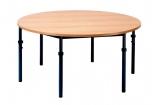 Univerzální stůl výškově stavitelný kruhový průměr 120 cm