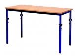 Univerzální stůl výškově stavitelný obdélníkový 100x80 cm