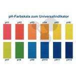 Univerzální tekutý indikátor pH, červený, podle McCrumba, pH 4-10