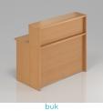 VISIO Dřevěný pult s nástavbou NLKA12 - DÁREK