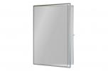 Vitrína LB 150x100 cm bílá emailová magnetická uzamykatelná