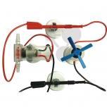Vodní turbína s motorem a vrtulí, model přenosu a transformace energie