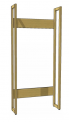 Základní regál, jednostranný, délka 100 cm