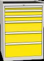 Zásuvková dílenská skříň DPO 01 B