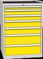 Zásuvková dílenská skříň DPO 01 C