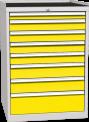 Zásuvková dílenská skříň DPO 01 D