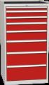Zásuvková dílenská skříň DPO 05 A