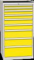 Zásuvková dílenská skříň DPO 05 B