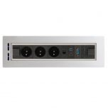 Zásuvkový elektricky otočný panel Vault BTCZ V 014