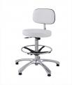 Židle (pracovní, laboratorní) Medisit 1162 s opěrou zad a stavitelným opěrným kruhem - SLEVA nebo DÁREK a DOPRAVA ZDARMA