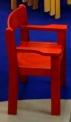 Židle s područkou TIM II - celomořená - A37.0hh