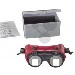 Zpětné brýle - prismové čočky